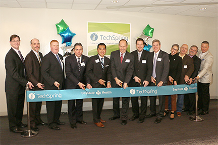 TechSpring Ribbon Cutting