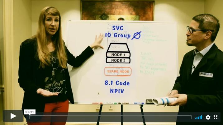 Tips on IBM SAN Volume Controller (SVC) Standby Storage Engine