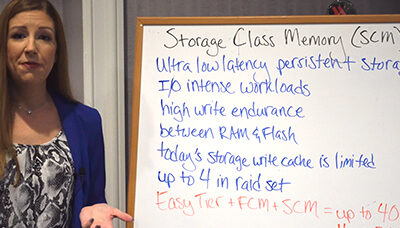 VLOG: IBM Storage Class Memory (SCM)