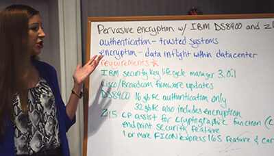 VLOG: Pervasive Encryption with IBM DS8900 and Mainframe z15